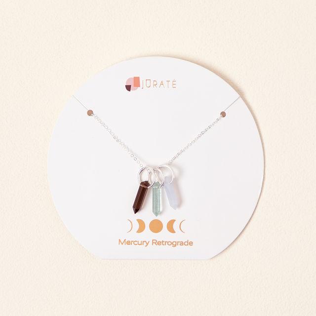 Mercury Retrograde Protection Necklace $58 2