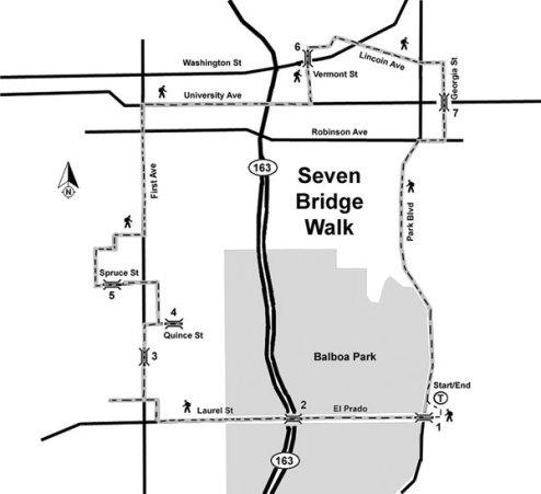 San Diego 7 Bridges Walk