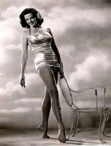 Jane Russell Satin Teddy