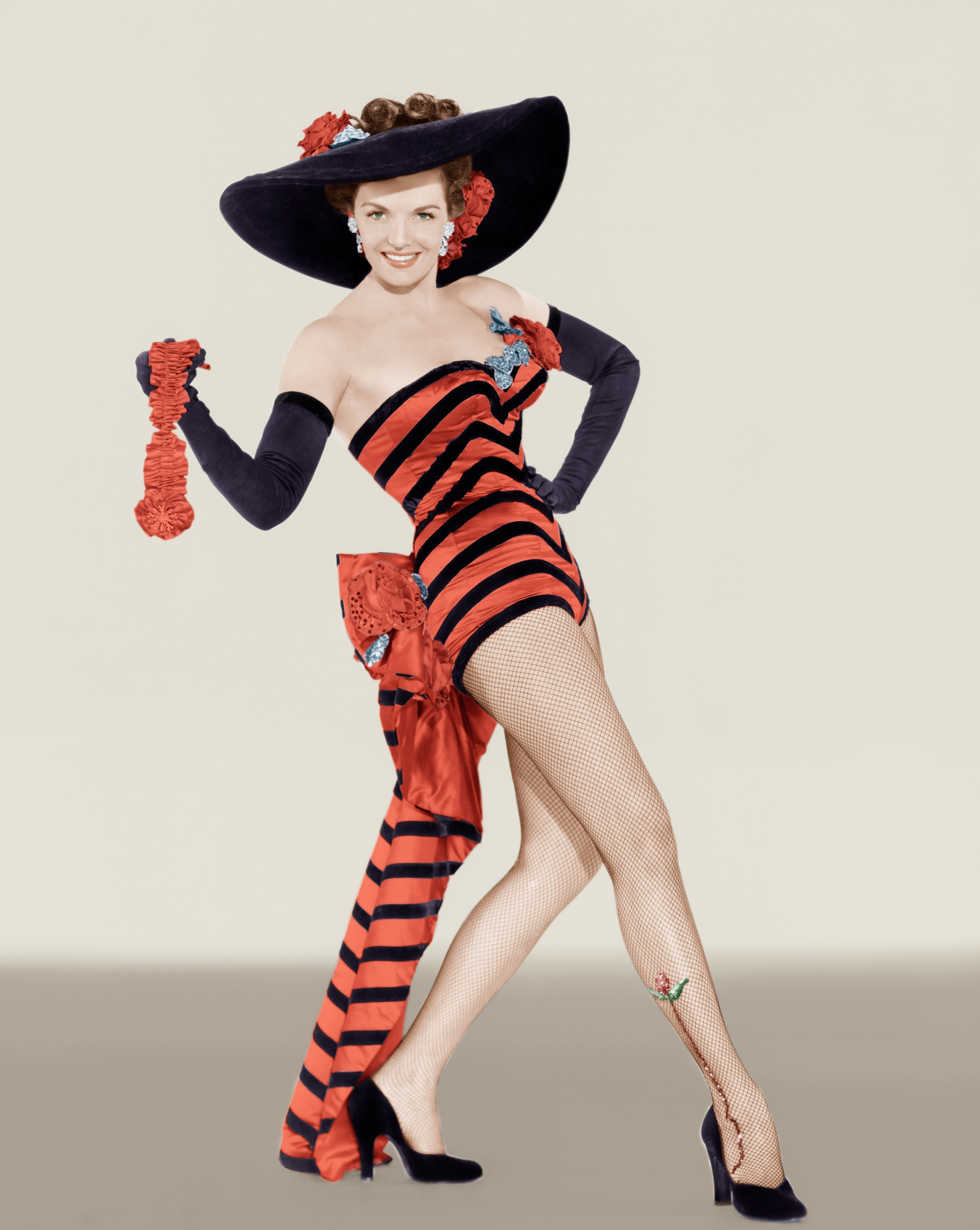 Jane Russell Striped