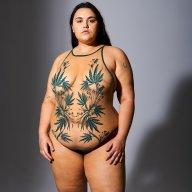 Booklyn Haze Bodysuit Butterscotch