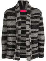 Elderstatesman Striped Sweater grey