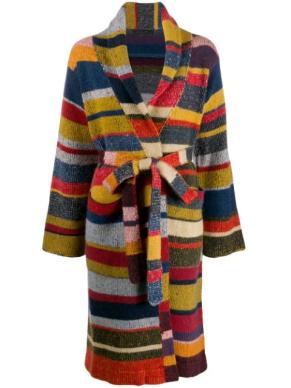 Elderstatesman Striped Sweater long