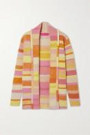 Elderstatesman Striped Sweater pink
