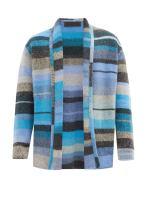 Elderstatesman Striped Sweater Women's blue