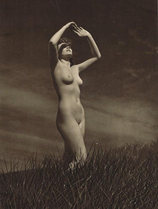 john-everard-study-of-nude-nude-lady-outdoors-photogravure-1940