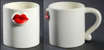 Lip service mugs