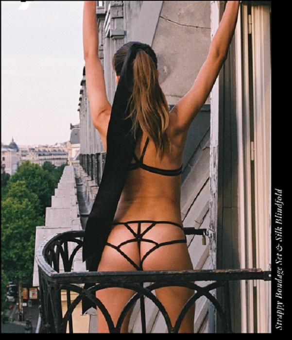 Rooftop lingerie